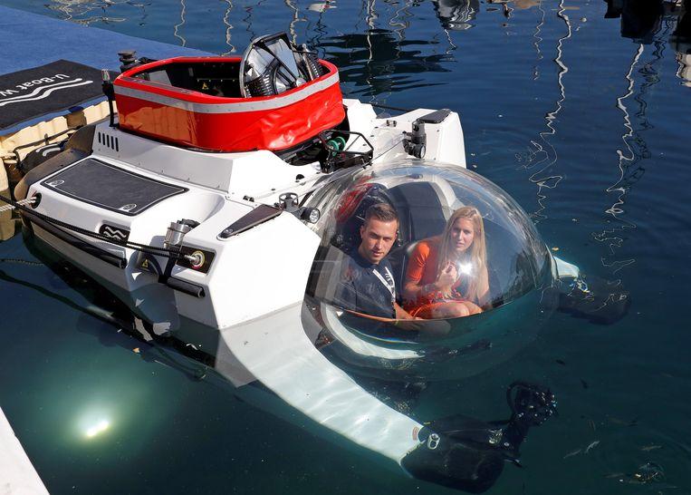 Een andere duikboot die werd voorgesteld op de Monaco Boat Show: de Super Yacht Sub 3.