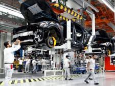 Productie elektrische Audi's stilgelegd
