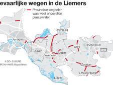 ANWB: gevaarlijke provinciale wegen in Liemers aanpakken