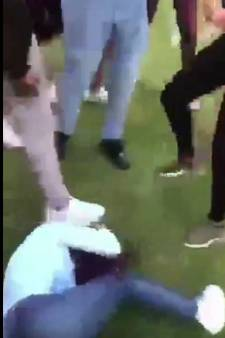 'Meisje in Zuiderpark op haar hoofd geschopt en bestolen'