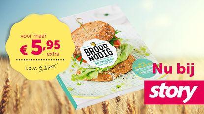 Extra voordelig: kookboek 'Broodnodig' voor maar €5,95 ipv €17,95
