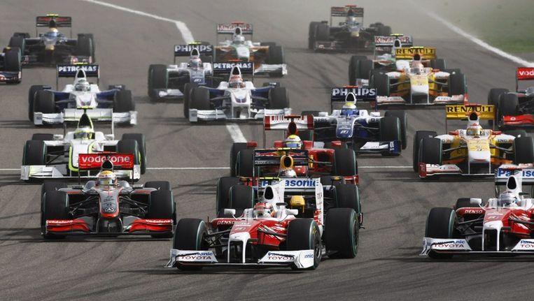 De Grand Prix van Bahrein in april 2009. © EPA Beeld