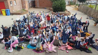 Milan ster van de school op werelddownsyndroomdag