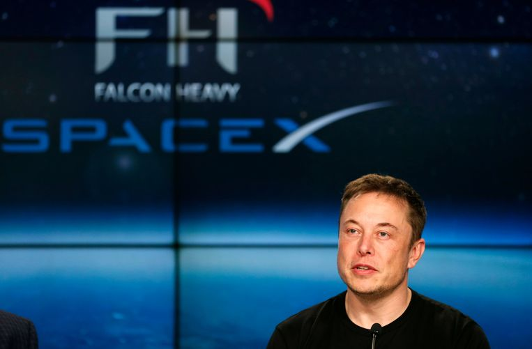 SpaceX-oprichter Elon Musk