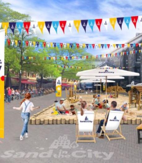 Megazandbak komende zomer in centrum van Zwolle en Deventer