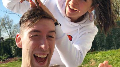 De lockdown van TikTokster Céline Dept en haar vriend Michiel