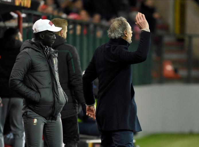 Pour la première fois, depuis son retourr à Sclessin, Michel Preud'homme perd des points, à domicile en Europa League.