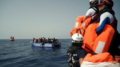Ocean Viking neemt opnieuw vluchtelingen aan boord voor de Libische kust
