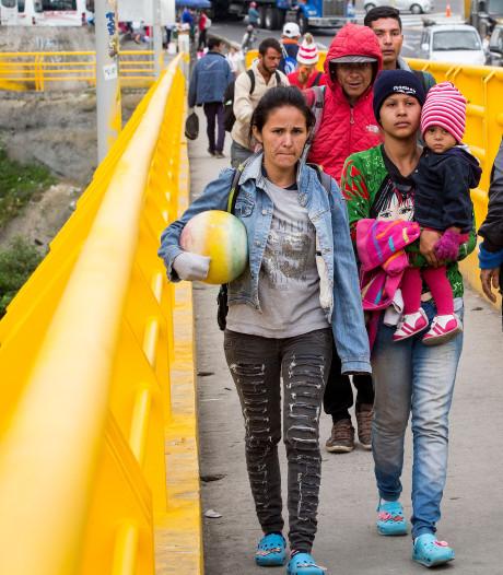 Op badslippers op de vlucht voor armoede en chaos