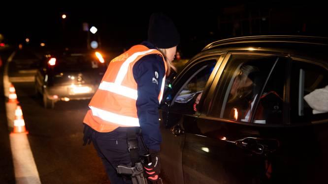 """Zeven personen onder invloed van drugs bij politiecontroles: """"Er wacht hen een zware straf"""""""
