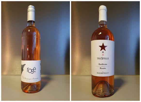 vlnr: Rosé Vendanges d'Anastasie, Tre Stelle Rosato