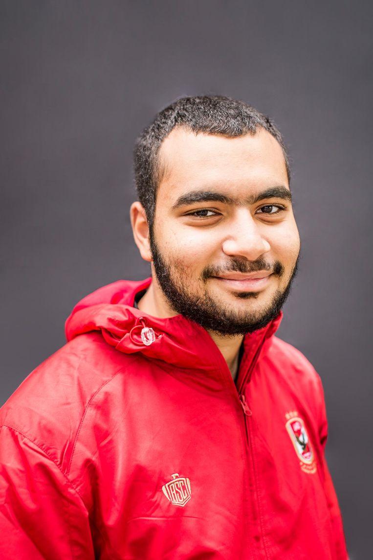 Ahmed Gooshan: 'Een vriend van me vond het wel lastig dat het samenviel. Hij vastte niet tijdens toetsen.' Beeld Eva Plevier