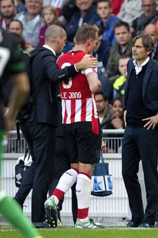 Luuk de Jong voorlopig niet inzetbaar, PSV wil verdediger