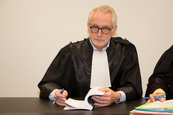 Politierechter Peter D'Hondt verbonden aan de rechtbank van Dendermonde.