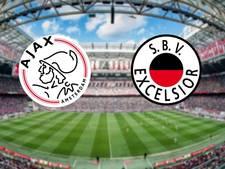 Ajax wil na gewonnen topper ook afrekenen met Excelsior