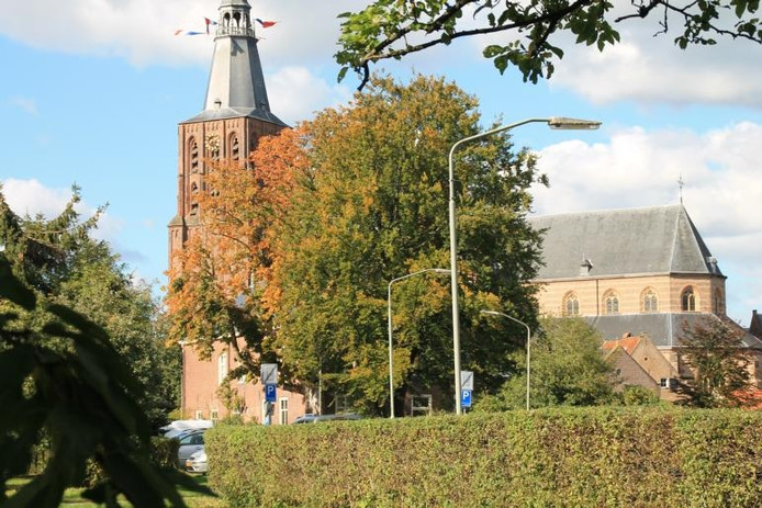 De Sint-Petruskerk in Boxtel, sinds zondag basiliek. foto Marcel Linssen/BD