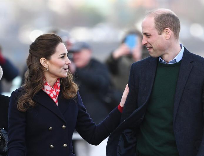 Le Duc et la Duchesse de Cambridge en visite dans le sud du Pays de Galles.