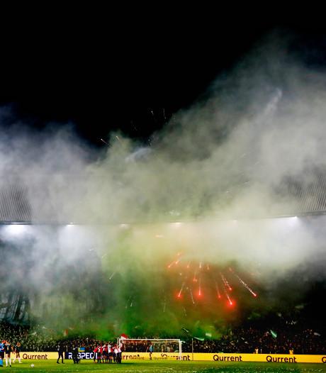 Feyenoord in beroep tegen straf na vuurwerk