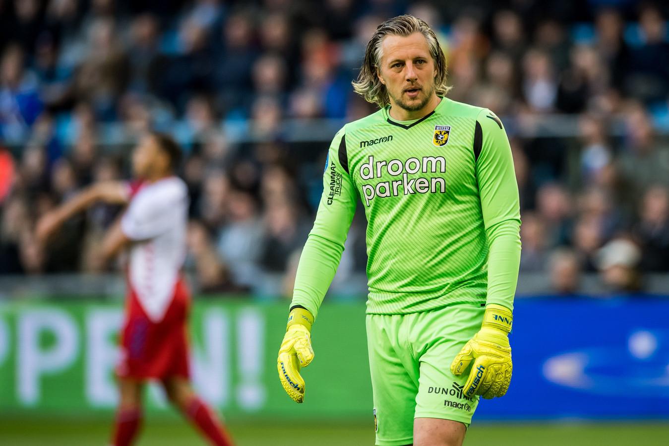 Remko Pasveer is op de weg terug bij Vitesse.