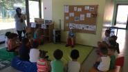 Kinderen leren spelenderwijs Nederlands tijdens 'Taalbad'