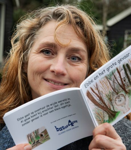Jolanda strijdt tegen zwerfvuil met boekje en posters