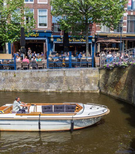 Verhuurders varen wel bij drukte in grachten Leeuwarden