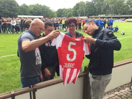 Mooi eerbetoon aan 5 jaar geleden overleden DESK-jeugdspeler Jurre Janssen in Kaatsheuvel