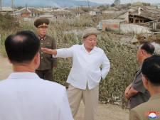 Kim Jong Un visite une zone frappée par un violent typhon en Corée du Nord