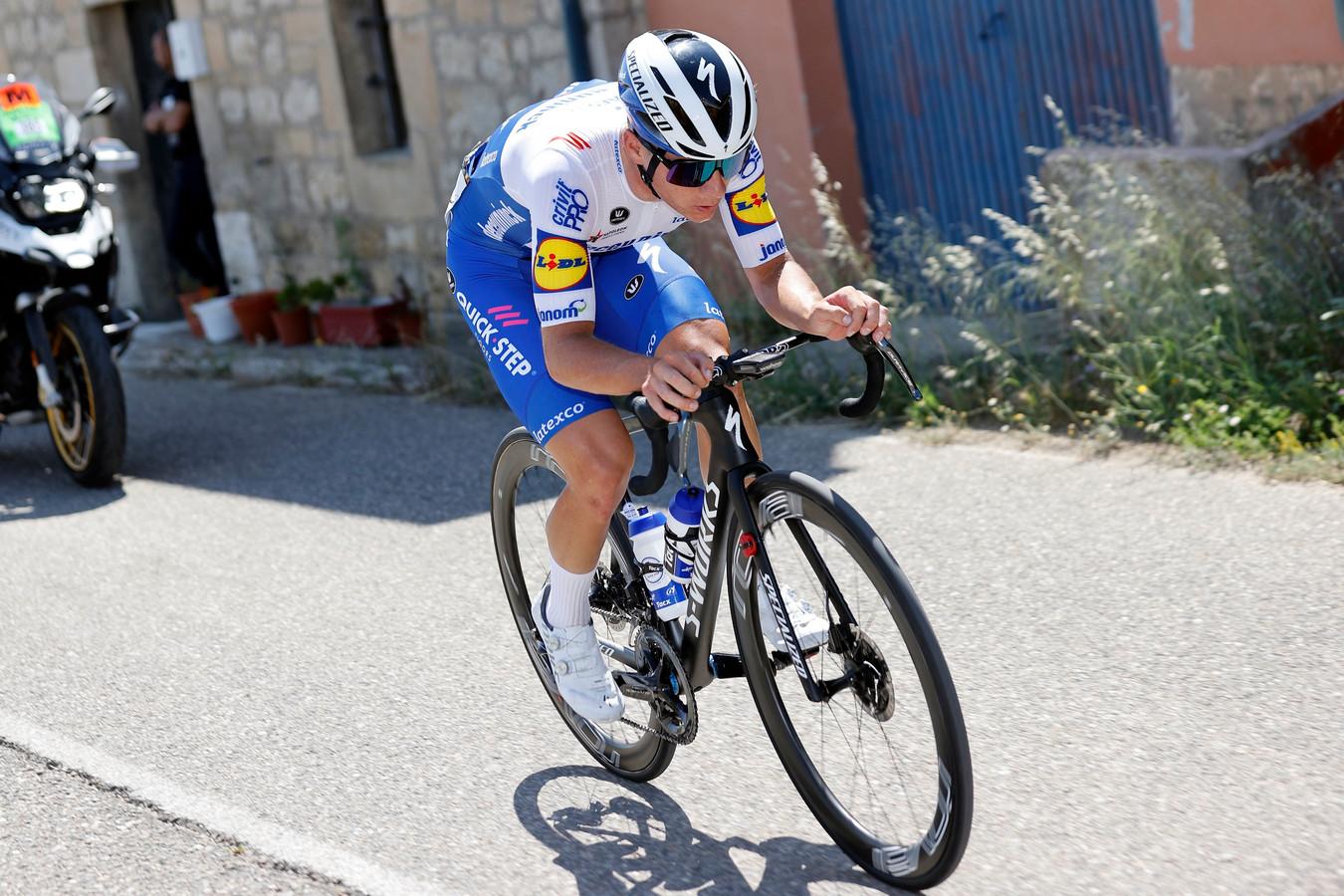 Remco Evenepoel est déjà passé à l'attaque sur le Tour de Burgos.