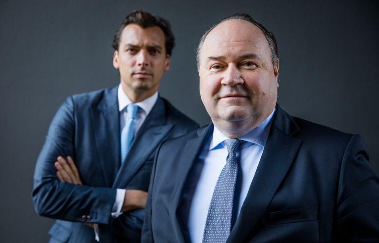 Thierry Baudet en Henk Otten. Beeld ANP