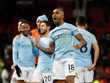 City te sterk voor United in derby van Manchester