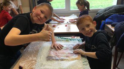 Leerlingen Vrije Basisschool Zwalm helpen Australische weesdieren