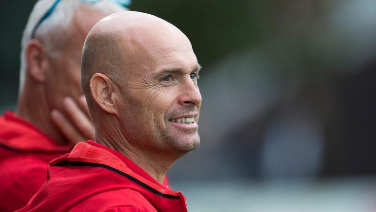 Keizer heeft afgelopen seizoen veel lof geoogst als trainer van Jong Ajax. Beeld Proshots
