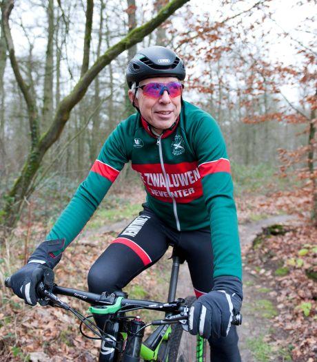 'De mountainbikeroute op de Holterberg sluiten is slechts een tijdelijke oplossing voor de zandhagedis'