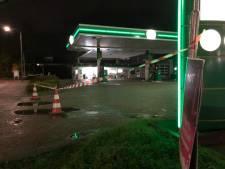 Tankstation in Dordrecht vol rook door stroomstoring: pomp uren dicht