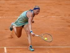 Bertens is toe aan rust in aanloop naar Roland Garros