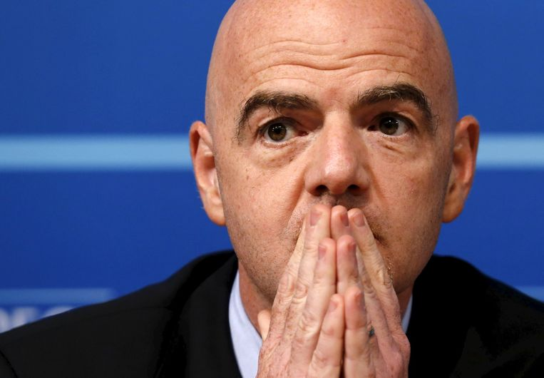 Infantino is de rechterhand van Platini bij de UEFA