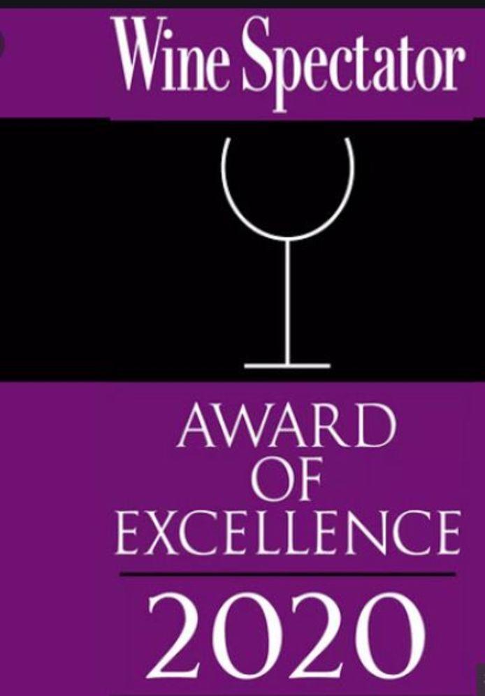 Wine Spectator looft jaarlijks Awards of Excellence uit.