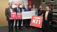 Versele Laga 11 km schenkt 2.000 euro aan Back On Track