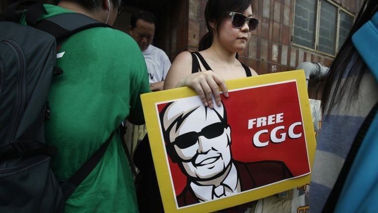 Protest in Hongkong Beeld reuters