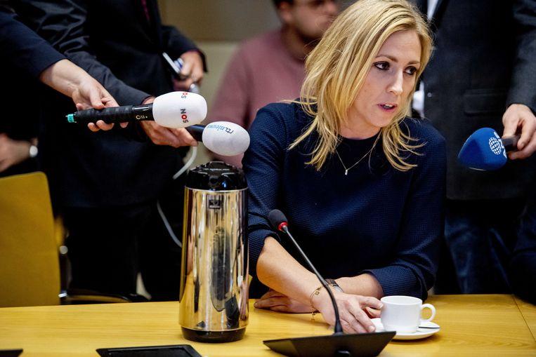 Medestander op dit thema van de CNV, de SP. 'Nederland moet weer zeggenschap krijgen over wie hier komt werken en onder welke voorwaarden. Alleen dan kunnen we uitbuiting en druk op de lonen voorkomen', schreef SP-leider Lilian Marijnissen vorige maand in een opiniestuk in Trouw.  Beeld ANP