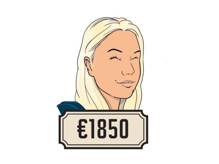 Lotte (22): 'Als je me dit salaris wil geven, prima - maar dan ben ik na deze maand weg'