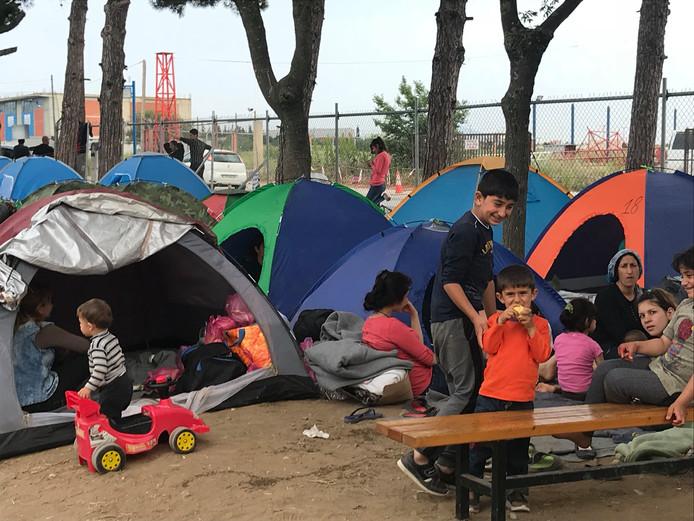 Vluchtelingenkamp Diavate, Griekenland