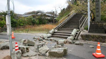 Aardbeving met magnitude 6,1 treft westen van Japan