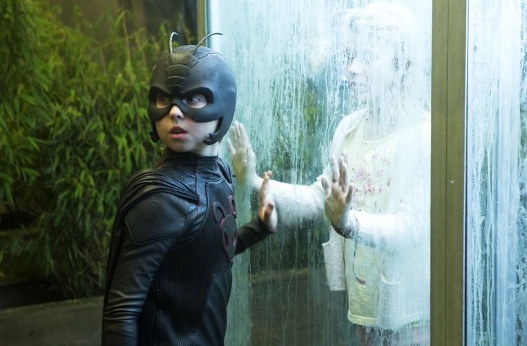 Oscar Dietz als Antboy. Beeld -