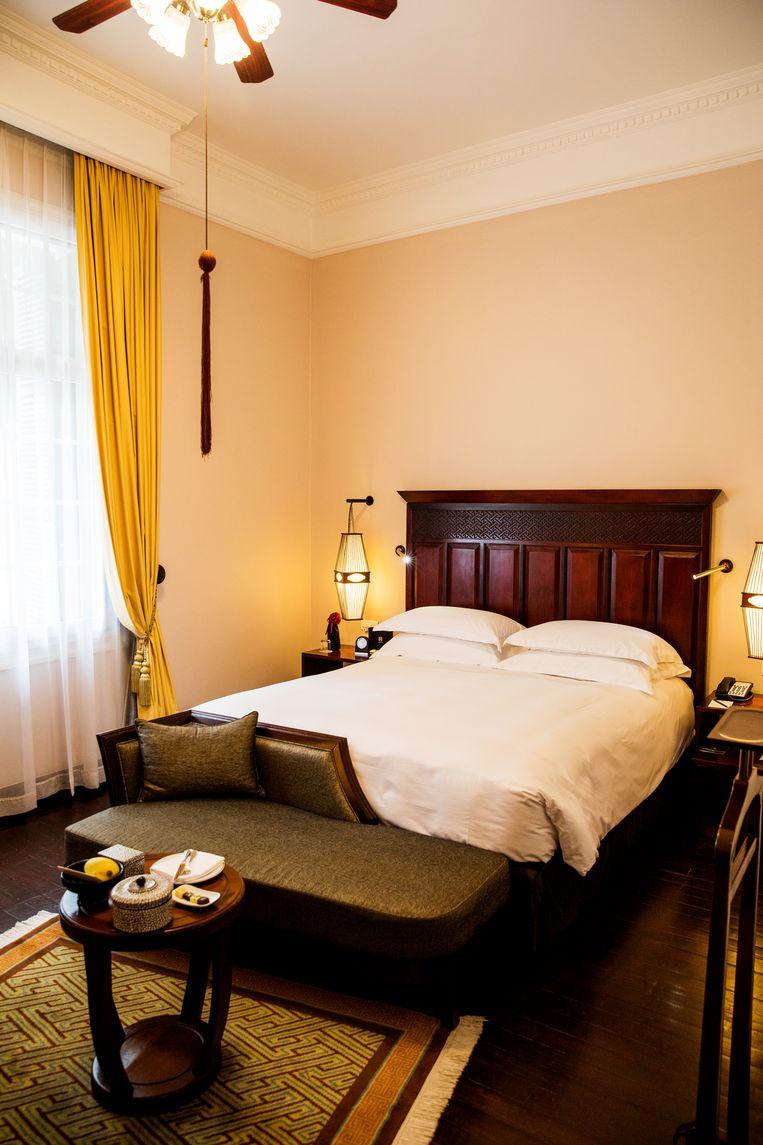 Kamers kosten € 355 per nacht in het hoogseizoen. Beeld Marie Wanders