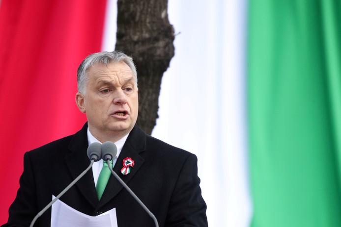 Viktor Orban, premier van Hongarije.