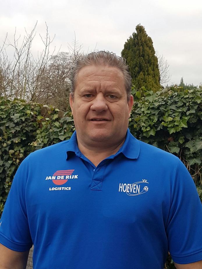 Eric Koenraads, trainer van Hoeven