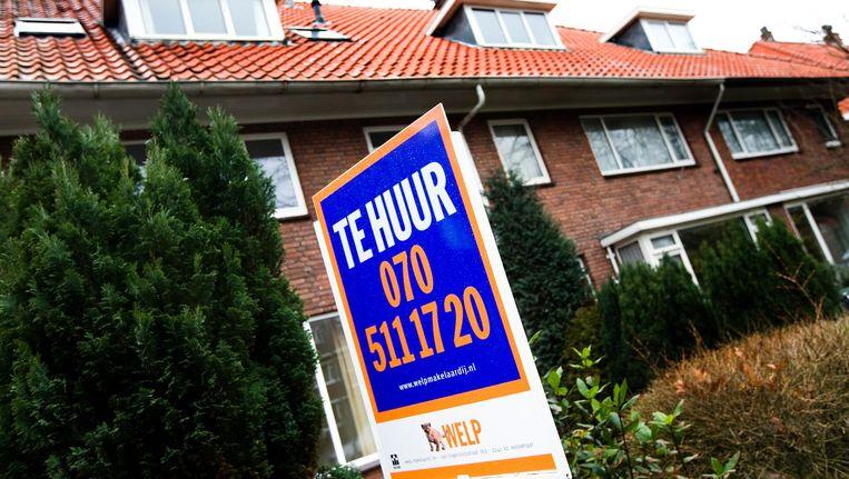 Huurwoningen lijken onbereikbaar voor mensen met een middeninkomen. Beeld anp