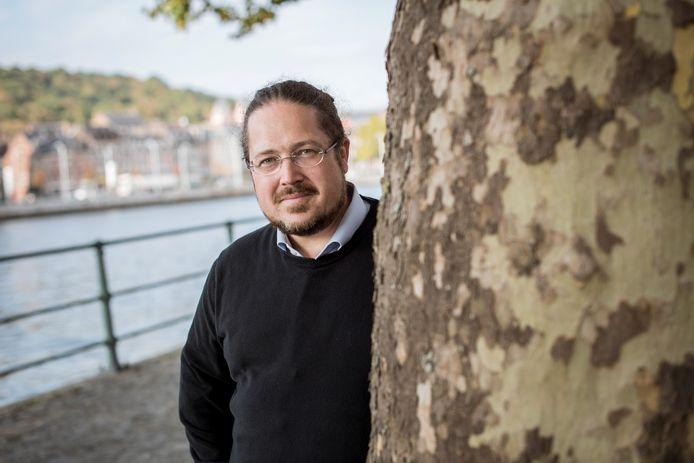François Schreuer, conseiller communal à Liège (Vega).